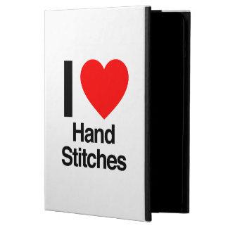 i love hand stitches iPad air cover