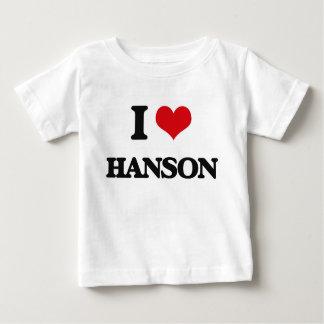 I Love Hanson Baby T-Shirt