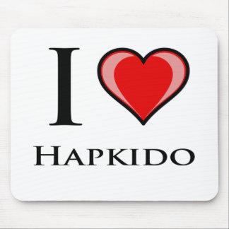 I Love Hapkido Mouse Pad