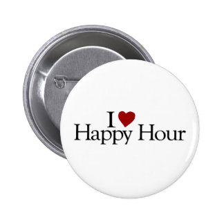 I Love Happy Hour Pins