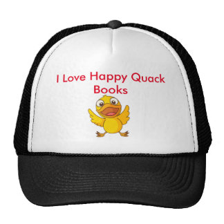 I Love Happy Quack Books Hat