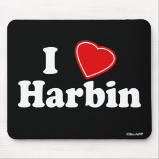 I Love Harbin Mouse Pad