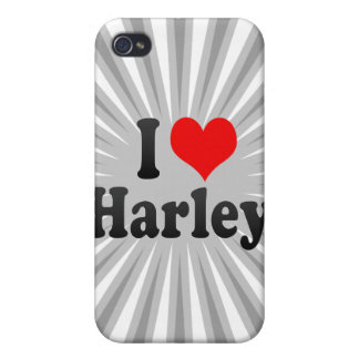 I love Harley Case For iPhone 4