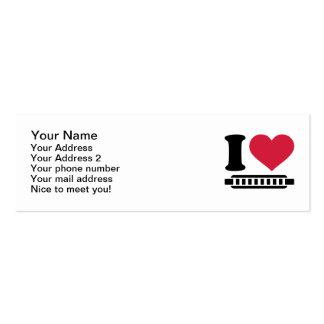 I love harmonica business card templates
