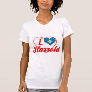 I Love Harrold, South Dakota T-shirts