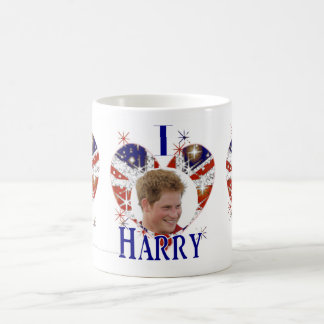 I Love Harry hearts UK flag Coffee Mug
