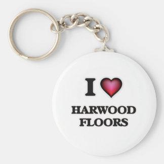 I love Harwood Floors Key Ring