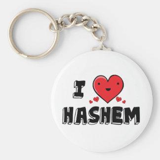 I Love Hashem Key Ring