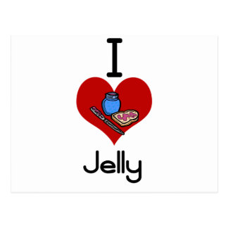 I love-hate jelly post cards