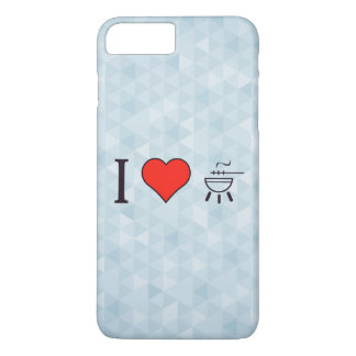 I Love Having A Bbq Party iPhone 7 Plus Case