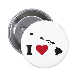 I Love Hawaii Pin