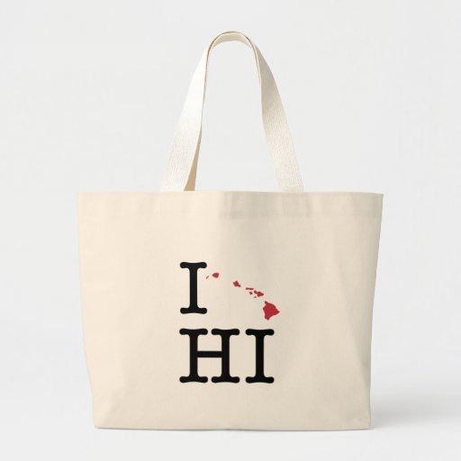 I Love Hawaii Bag