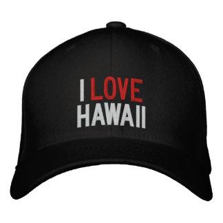 I LOVE HAWAII BASEBALL CAP