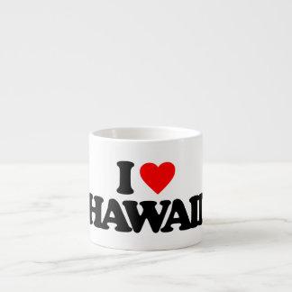 I LOVE HAWAII ESPRESSO MUG