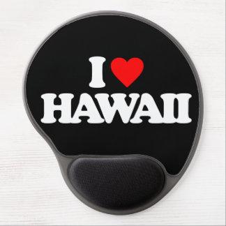 I LOVE HAWAII GEL MOUSEPADS