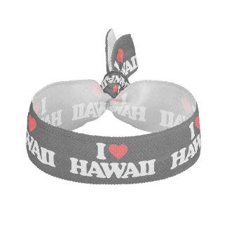 I LOVE HAWAII HAIR TIES