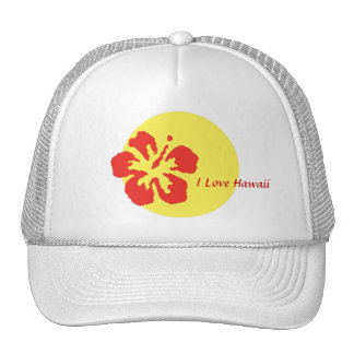 """""""I Love Hawaii"""" Hat"""