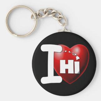 I Love Hawaii - I Heart Hawaii Key Chain