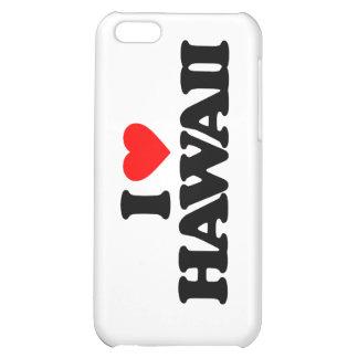 I LOVE HAWAII iPhone 5C CASES
