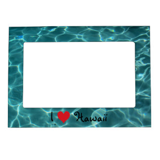 I Love Hawaii Magnetic Frame