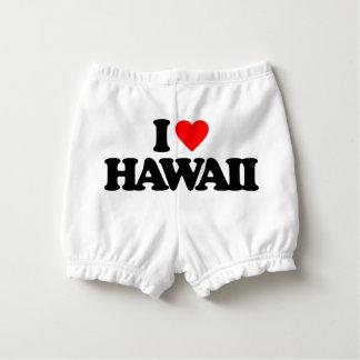 I LOVE HAWAII NAPPY COVER