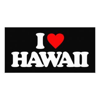 I LOVE HAWAII PHOTO CARD