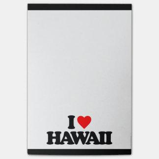 I LOVE HAWAII Post-It NOTE