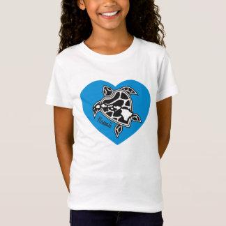 I Love Hawaii Shirt - Hawaii Islands Turtle