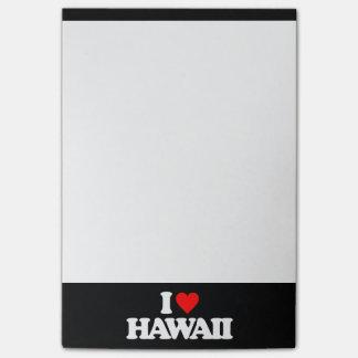 I LOVE HAWAII POST-IT® NOTES