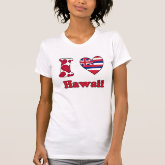 I love Hawaii Tee Shirts