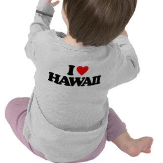 I LOVE HAWAII TEES