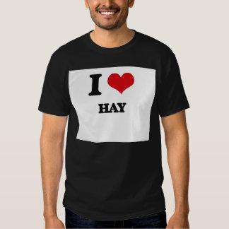 I love Hay Tshirt