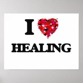 I Love Healing Poster