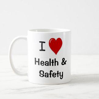 I Love Health and Safety - Double-sided Basic White Mug