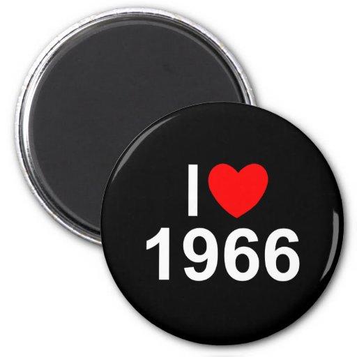 I Love (Heart) 1966 Magnet