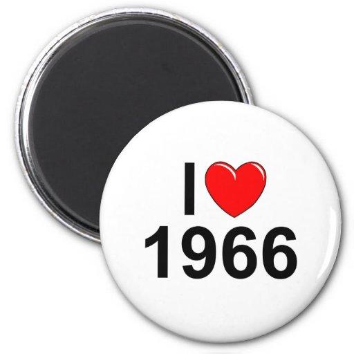 I Love (Heart) 1966 Fridge Magnets