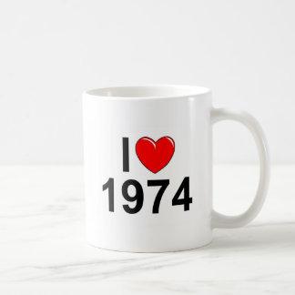 I Love (Heart) 1974 Coffee Mugs