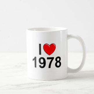 I Love (Heart) 1978 Coffee Mug