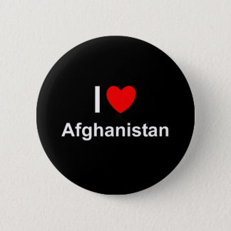 I Love Heart Afghanistan 6 Cm Round Badge
