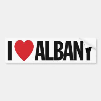 "I Love Heart Albany 11"" 28cm Vinyl Decal Bumper Sticker"