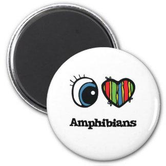 I Love (Heart) Amphibians Magnet
