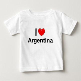 I Love Heart Argentina Baby T-Shirt