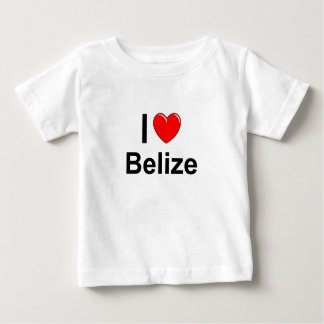 I Love Heart Belize Baby T-Shirt