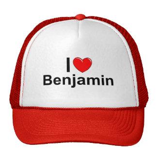 I Love (Heart) Benjamin Cap