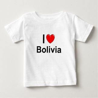 I Love Heart Bolivia Baby T-Shirt