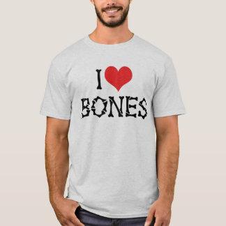 I Love Heart Bones - Chiropractor Archeology Lover T-Shirt