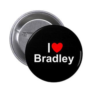 I Love (Heart) Bradley 6 Cm Round Badge