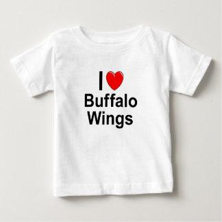 I Love Heart Buffalo Wings Baby T-Shirt