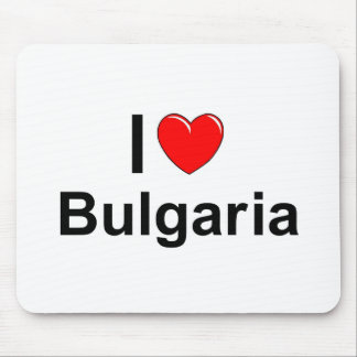 I Love Heart Bulgaria Mouse Pad