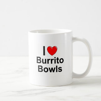 I Love Heart Burrito Bowls Coffee Mug